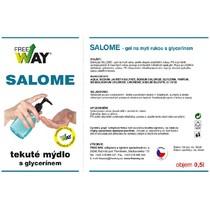 Tekuté mýdlo na ruce s glycerínem