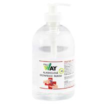 FREE WAY - Alkoholová dezinfekce rukou s dávkovací pumpou - obsah 0,5 l