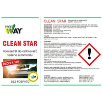 CleanStar - letní superkoncentrát do ostřikovačů 10 l