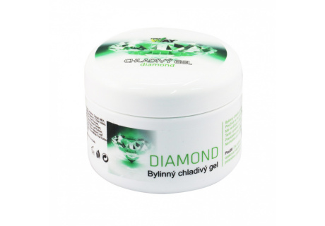 Chladivý bylinný gel DIAMOND